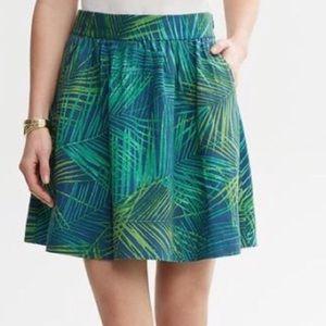 Banana Republic Palm Frond Skirt.